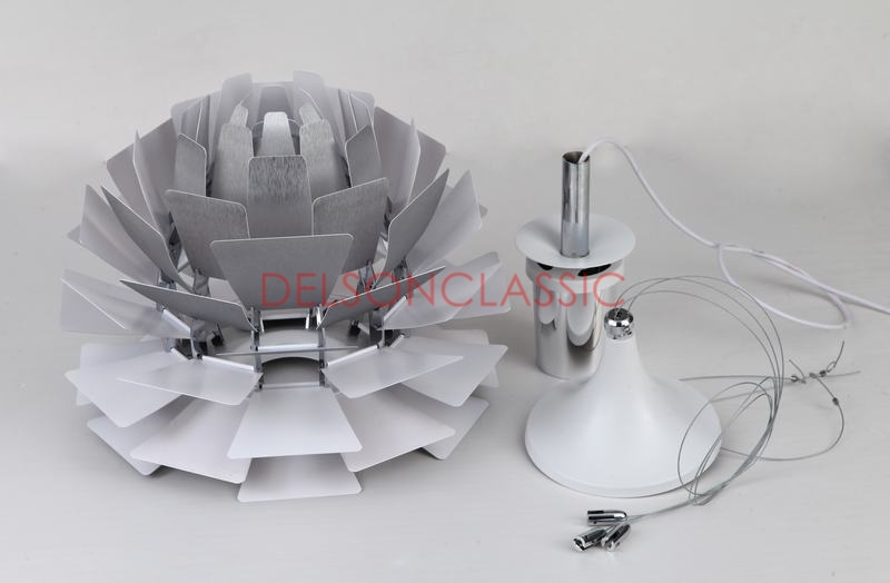 PH Artichoke Lamp Silver DL056