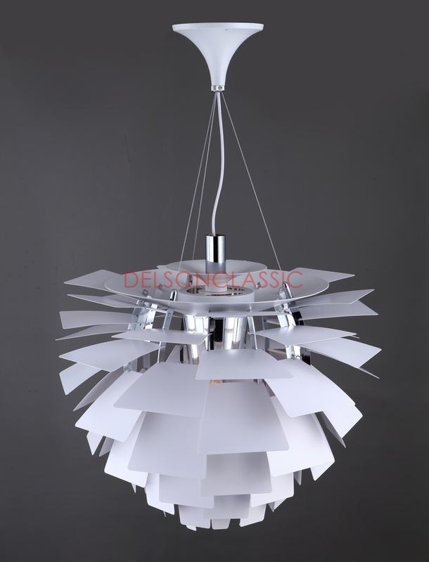 PH Artichoke Lamp White DL056