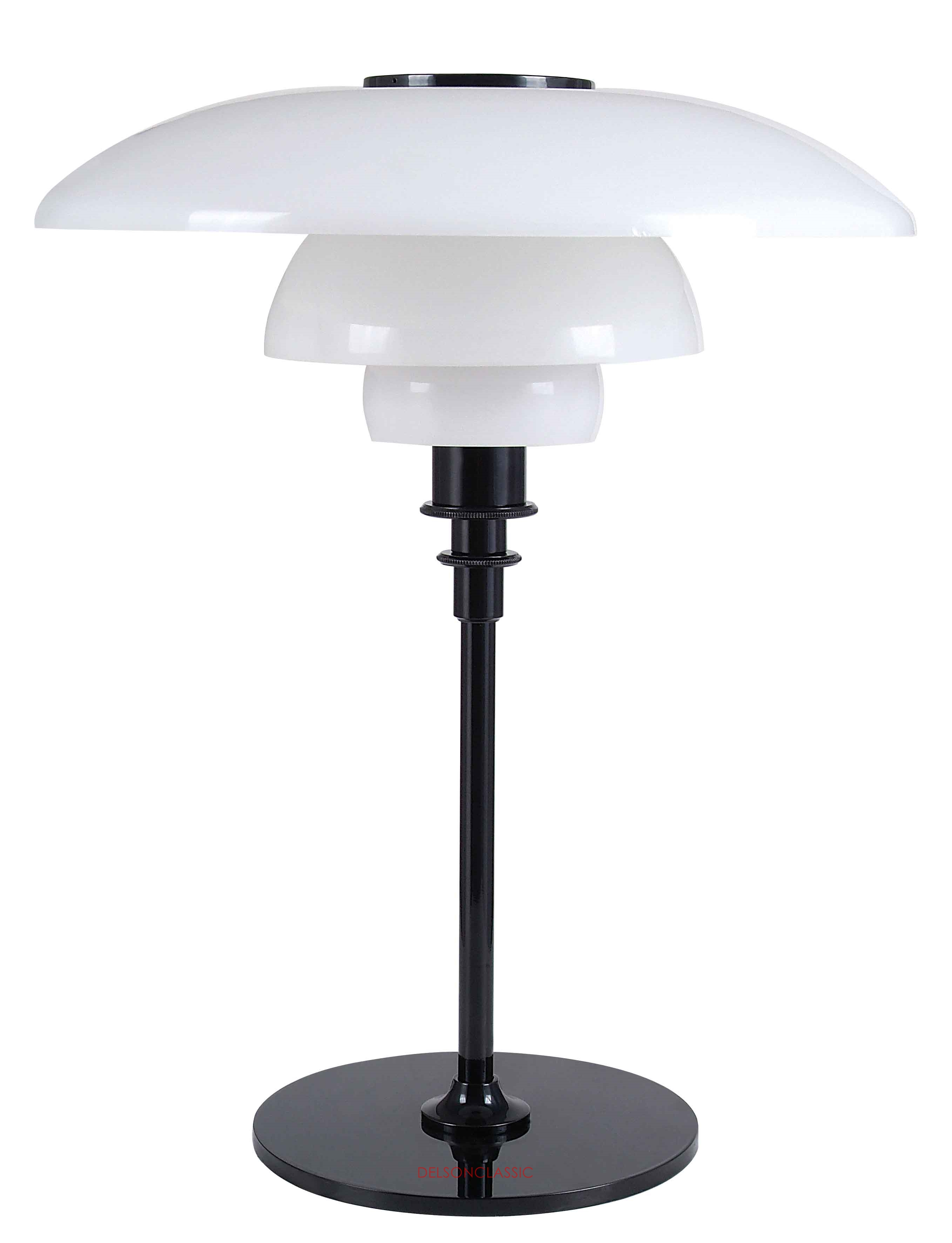 PH 4½-3½ GLASS TABLE LAMP DL053