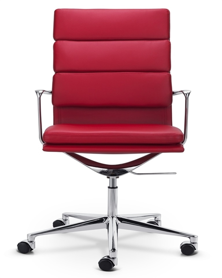 High-back Office Chair Soft Padded Leather DS396
